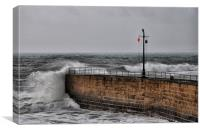 Porthleven Harbour, Canvas Print