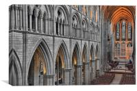 Truro Cathedral, Canvas Print