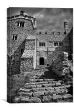 St Michaels Mount, Cornwall, Canvas Print