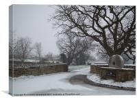 Snowy Day, Canvas Print