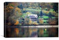 Lac d'Eguzon, Canvas Print