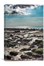 Old Hunstanton Beach, Norfolk, Canvas Print