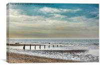 Brancaster Beach Norfolk, Canvas Print