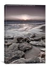 Western Australia Beach Sunset, Canvas Print