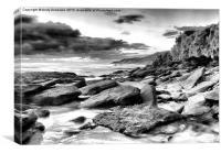 Rugged Australia Coastline, Canvas Print