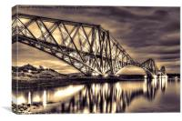 Forth Rail Bridge Sunrise, Canvas Print