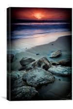 Western Australia Sunset, Canvas Print