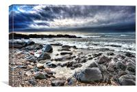 Mull of Kintyre Coast, Canvas Print