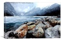 Lake Louise Alberta Canada, Canvas Print