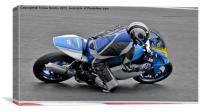 BMRC Motorcycle club Racing, Canvas Print