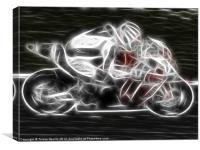 Ghost Bike, Canvas Print
