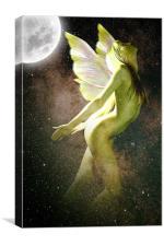 Sky Fairy, Canvas Print