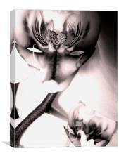Orchid Portrait, Canvas Print
