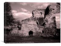 Ayton Castle, Canvas Print