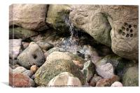 Burniston Rocks, Canvas Print