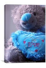 Love Bear, Canvas Print