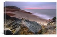Hengistbury Head Dawn, Canvas Print