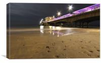The Pier at Bournemouth, Canvas Print