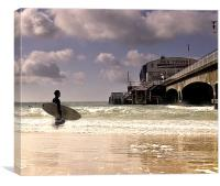 Time to Surf, Canvas Print