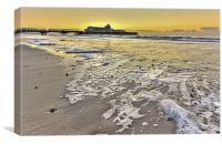 Bournemouth Pier at Sunrise, Canvas Print