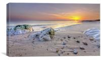 Hengistbury Head Sunset, Canvas Print