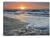 The Sea, Canvas Print