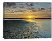 Brownsea Island Sunset, Canvas Print