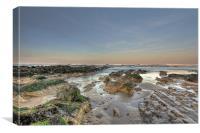 Rocky Bude Beach Seascape, Canvas Print