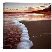 Golden Sands, Canvas Print