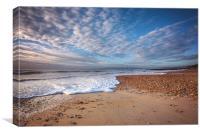 Beautiful Beach Morning, Canvas Print
