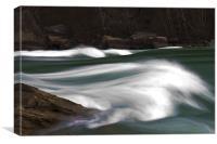Rapids On the Niagara, Canvas Print