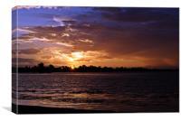 Anniversary Sunset, Canvas Print