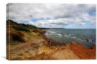 Cliff View, Canvas Print