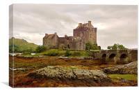Eileen Donan Castle, Scotland, Canvas Print