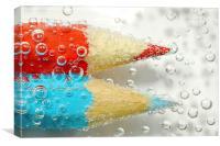 Fuzz Bubbles, Canvas Print