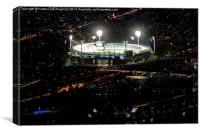 Stadium., Canvas Print