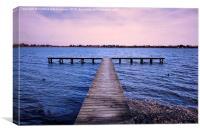 Lake Wendouree, Canvas Print