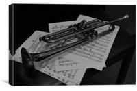 The Trumpet, Canvas Print