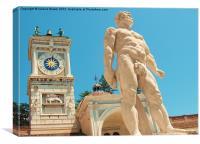 Piazza della Libertà, Udine, Canvas Print