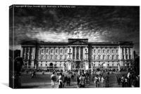 Buckingham Palace, Canvas Print