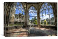 Solitary Conservatory, Canvas Print