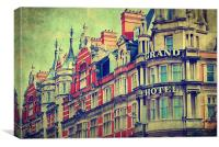 Grand Hotel, Canvas Print