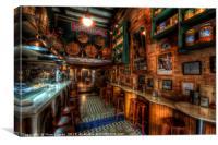 Bodega Monumental Tapas Bar, Canvas Print