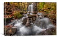 Lumsdale Falls 1.0, Canvas Print