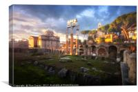 Forum of Caesar, Canvas Print