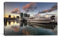 Bayside Sunset, Canvas Print