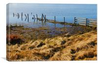 CALM LOCH OBSERVATIONS 2, Canvas Print