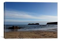 HEBRIDES BEAUTIFUL BAYBLE BEACH OF LEWIS 3, Canvas Print