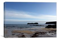 HEBRIDES BEAUTIFUL BAYBLE BEACH OF LEWIS 5, Canvas Print