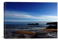 HEBRIDES BEAUTIFUL BAYBLE BEACH OF LEWIS 6, Canvas Print